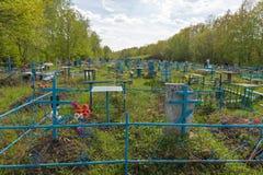 Старое правоверное кладбище Стоковая Фотография