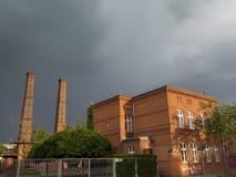 Старое промышленное предприятие Стоковая Фотография
