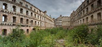 Старое промышленное здание в Гданьске Стоковые Фото