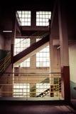Старое промышленное здание в Гданьске Стоковое Изображение RF
