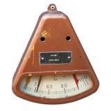 Старое промышленное termometer стоковое изображение rf