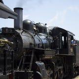 Старое работая strassburg locomovite i пара, PA Стоковая Фотография
