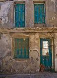 Старое разрушенное здание Rethymno Стоковые Изображения RF