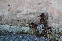 Старое распятие Стоковое Фото