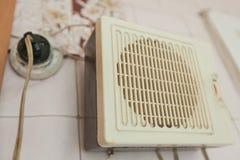 Старое радио стены Стоковое Изображение