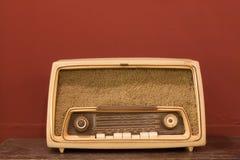 Старое радио. Стоковое Фото