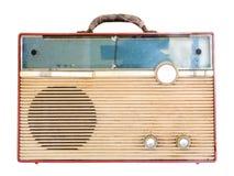 Старое ретро радио Стоковое Изображение RF