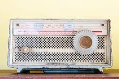 Старое ретро радио Стоковое фото RF