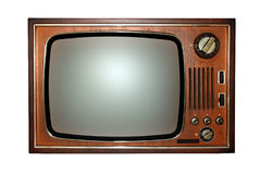 старое ретро телевидение tv стоковые изображения