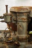 Старое ржавое машинное оборудование Стоковые Изображения RF