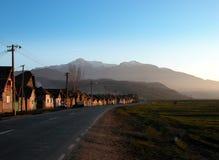 старое село стоковое изображение
