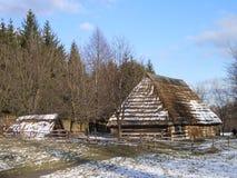 Старое село Стоковая Фотография RF