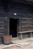 старое село Стоковые Фото