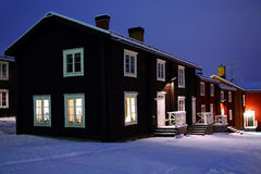 Старое село стоковые фотографии rf