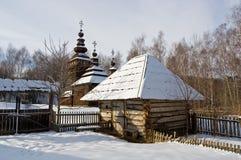 старое село Стоковые Изображения