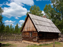 старое село Польши Стоковые Изображения RF