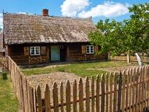 старое село Польши Стоковые Изображения