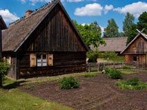 старое село Польши Стоковое Изображение RF