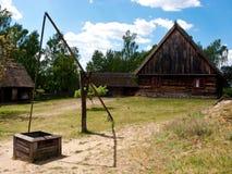 старое село Польши Стоковое Фото