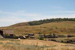 Старое село стоковая фотография