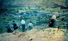Старое скольжение Стоковое Изображение RF