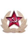 Старое советское cockarde, советские insignia. Стоковое Фото