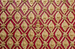Старое тайское отливая в форму изящное искусство штукатурки гипсолита стоковая фотография rf