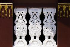 Старое тайское ремесло стены стоковые фото