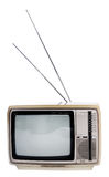 старое телевидение Стоковые Фотографии RF