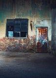 Старое треснутое или grungy место Стоковая Фотография RF