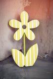 Старое украшение цветка fretwork стоковое фото