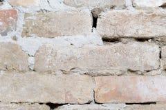Старое фоновое изображение brickwall Стоковые Изображения