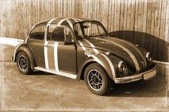Старое фото винтажного автомобиля Стоковое Изображение RF