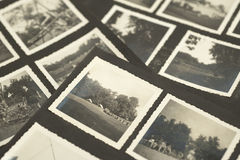 старое фото Стоковые Фото
