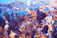 старое шелушение краски Предпосылка космоса стоковые фотографии rf