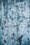 Старое шелушение краски от белой двери Стоковые Фотографии RF