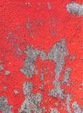 Старое шелушение краски от старой стены дома Стоковое Изображение RF