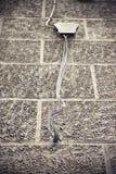 Старое электрическое соединение Стоковое Изображение