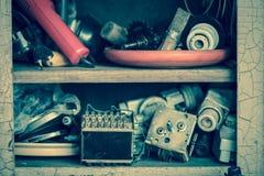 Старое электрическое старье стоковые изображения rf