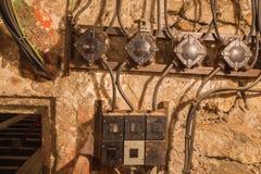 Старое электричество стоковое изображение rf