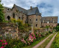 Старое Abbaye Морской de Beauport стоковое фото rf