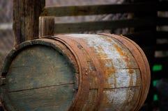 Старое barel Стоковое Изображение