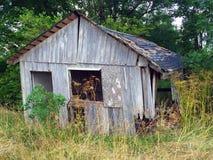 Старое barnwood полиняло 1 Стоковое Изображение RF