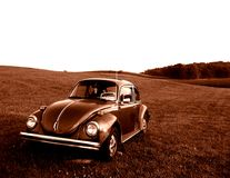 Старое Beatle Стоковое фото RF