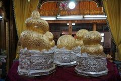 Старое Buddhas стоковое фото rf