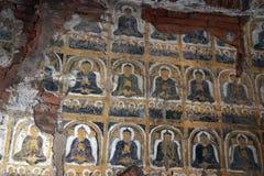 Старое Buddhas стоковые изображения