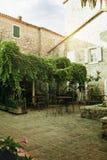 Старое café Стоковое Изображение