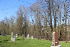Старое cimetery, st-André-Avellin стоковые изображения rf