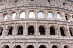 Старое Colosseum в Риме, гладиаторы воюет Стоковое Фото