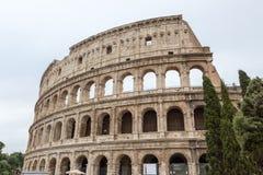 Старое Colosseum в Риме Италии Стоковые Изображения